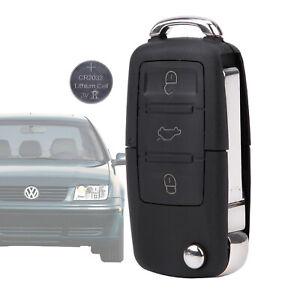 Auto Klapp Schlüssel Schlüsselschlüssel mit Batterie Für VW Passat 3B 3BG B5