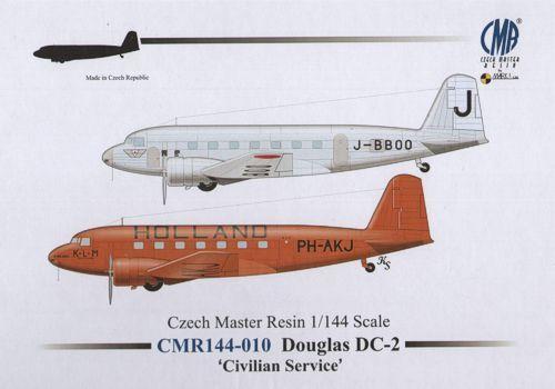 Czech Master Resin 1 144 Douglas DC-2 Civilian Service