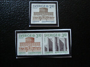 Suede-Stamp-Yvert-and-Tellier-N-1410-1411a-Nsg-A22-Stamp-Sweden