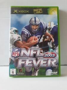 Xbox-NFL-Fever-2003-Inc-Manual