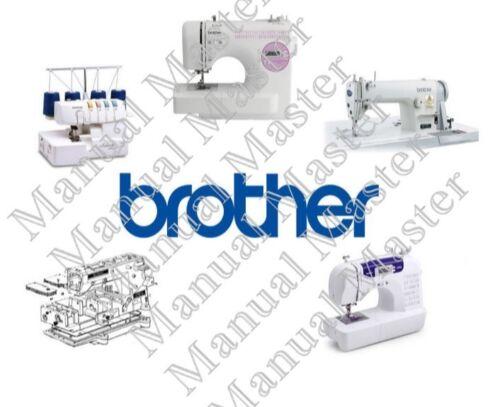 Brother Máquina De Coser Manual de instrucciones//listas de piezas//Manual de servicio en PDF