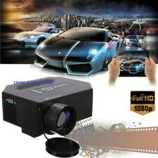 MINI HD 1080P LED PROIETTORE HDMI/USB/VGA/AV/TV 1200 LUMENS VIDEOPROIETTORE