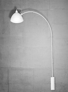 wandlampe bogen lampe leuchte schwenkbar retro gothik. Black Bedroom Furniture Sets. Home Design Ideas
