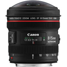 New Canon EF 8-15mm f/4 L Fisheye USM Lens