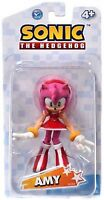 Sonic The Hedgehog Amy Rose 3.5 Inch Plastic Action Toy Figure