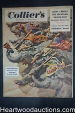 "Collier's Jul 12, 1952 ""The Sons of Cyrus Trask"" by John Steinbeck, Luke Short"