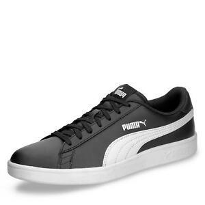 Details zu Puma Smash v2 Herren Sneaker Schnürschuhe Halbschuhe Freizeitschuhe Leder Schuhe