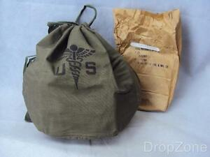 Vietnam-War-US-Army-Medical-Patient-039-s-Effects-Hospital-Bag-New-old-Stock