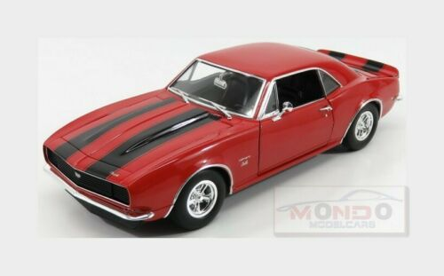 Chevrolet Camaro 427 Coupe 1967 Red Black ACME MODELS 1:18 A1805711 Model