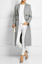 NEW $5500 BURBERRY PRORSUM 100% CASHMERE TRENCH COAT IT44 UK12 US10 JACKET MAC