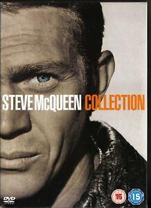 STEVE-McQUEEN-COLLECTION-Pack-de-4-dvd-s-Formato-slim-Pelis-idioma-ingles
