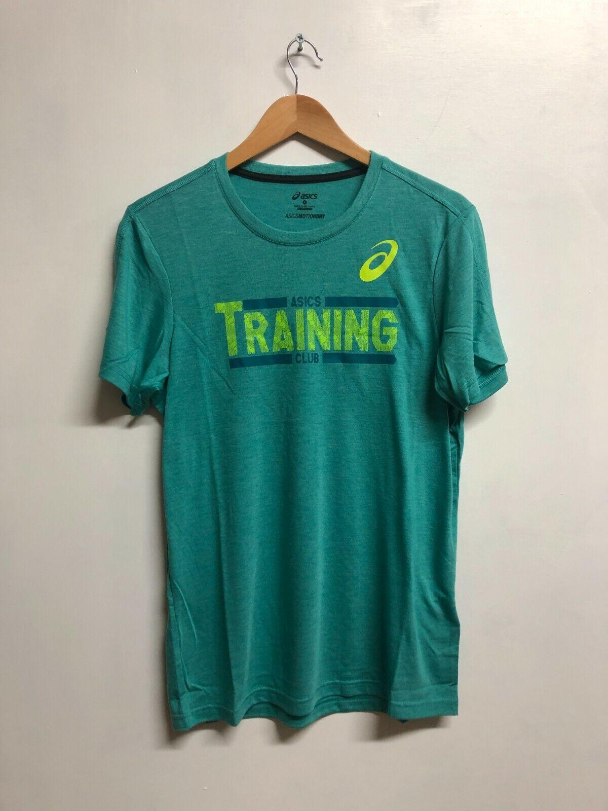 Asics Men's GPX T-Shirt Sports GPX Top T-Shirt - Lapis Heather Blue - New