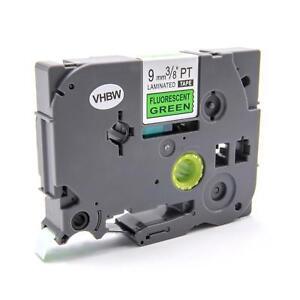 CASSETTA NASTRO 9mm N/N/V VHBW per Brother P-Touch H100LB, H100R