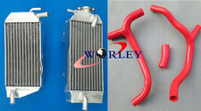 FOR Honda CRF450R CRF 450 R 2009-2012 2010 2011 aluminum alloy radiator & hose