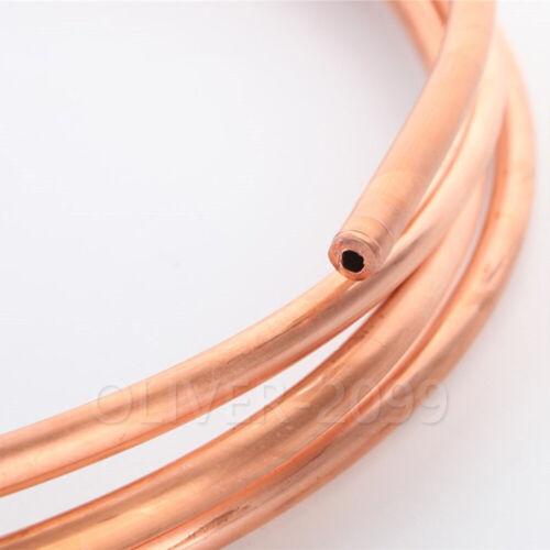 1 Meter 99,9/% Cu Weiches Kupferrohr Kühlung Kupferrohr der Klimaanlage