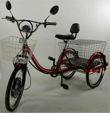 Electric tricycle scooter for adults, motorized trike