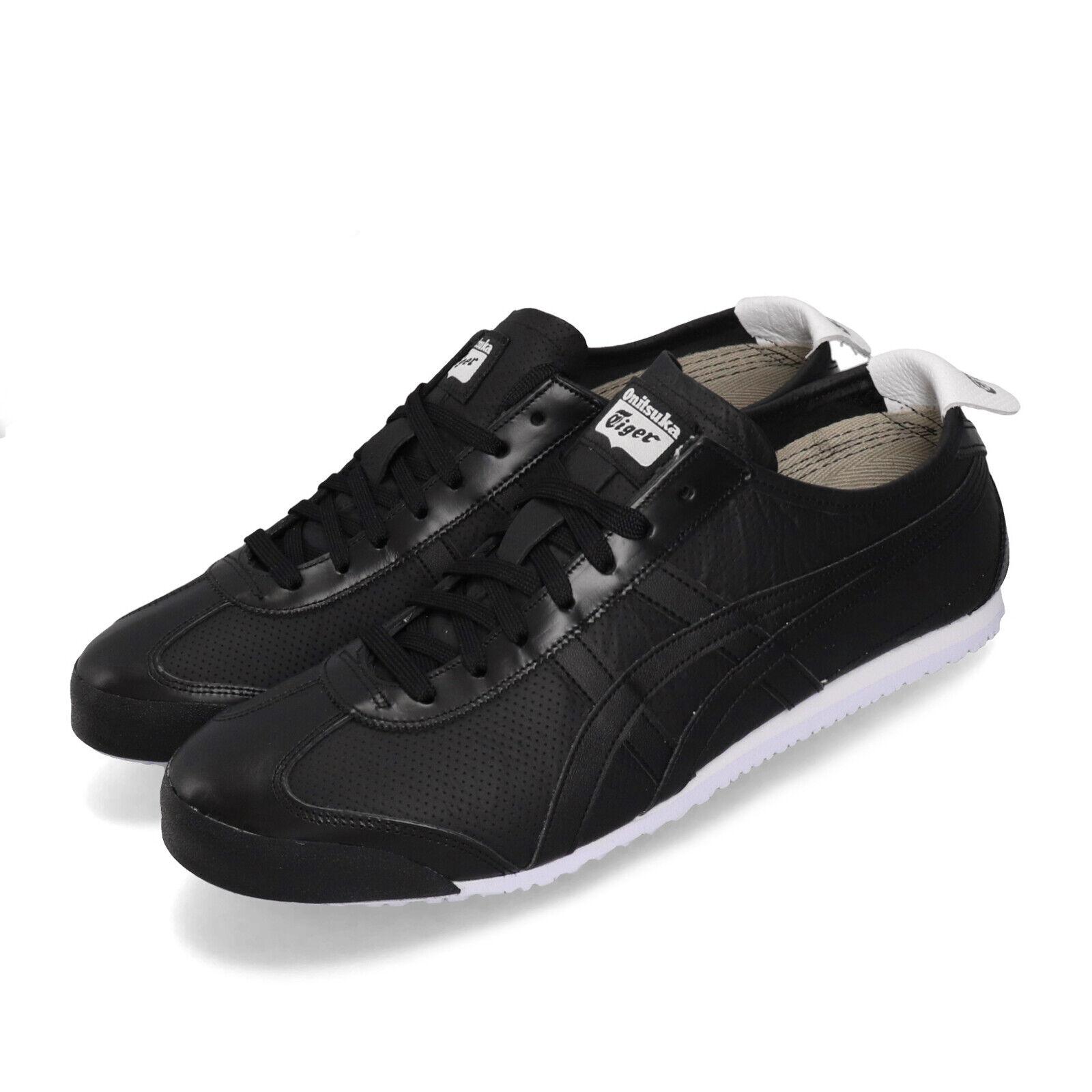 Asics Onitsuka Tiger MEXICO 66 Negro blancoo Zapatos Unisex Hombres Mujeres 1183A443-001
