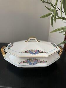 Vintage Maytime Pattern Casserole Dish - Spear & Co. Martha Washington Edition