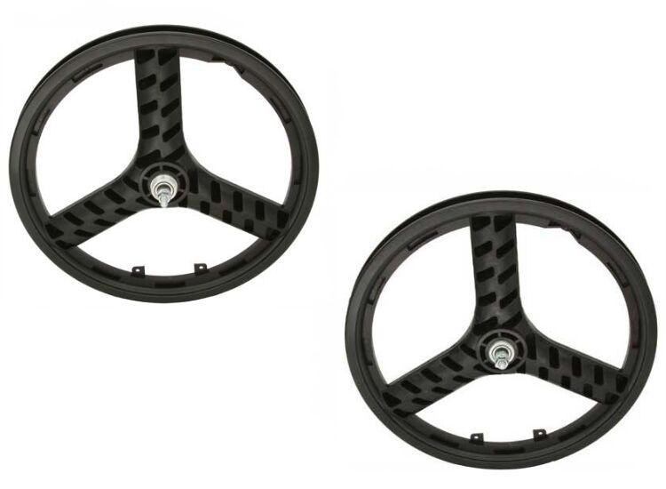 20  BMX MAG Plastic 3 spokes Front & Rear Freewheel wheel