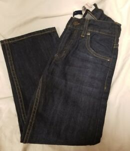 Levi/'s 505 Straight Leg Regular Fit Jeans for Boys Adjustable Waistband