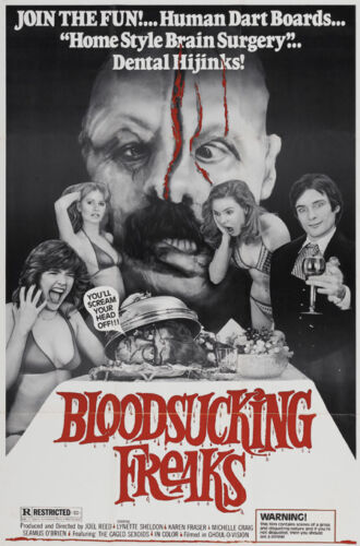 Collectibles & Art Joel Reed's Blood sucking freaks horror movie poster