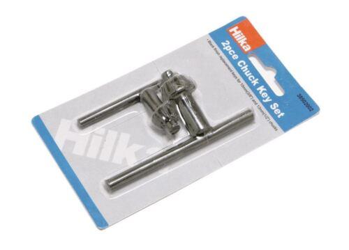 Hilka 38502002 2 Pce Chuck Key Set