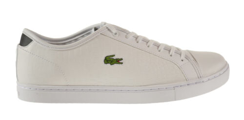 Lacoste Showcourt Croc SPM Leather Men/'s Shoes White-Black 7-28spm0227-147
