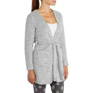 NWT-I-Appel-Women-039-s-Cozy-Super-Plush-Robe-with-Pockets