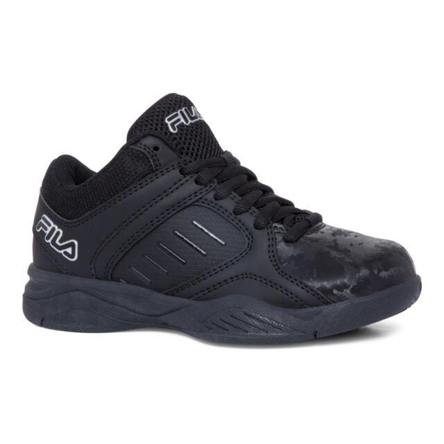 Boys Tennis Shoes FILA Black Size 2 for