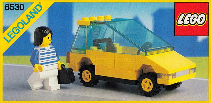 Nuevo LEGO Clásico ciudad 6530 Sport Coupé Legoland Sellado de tráfico