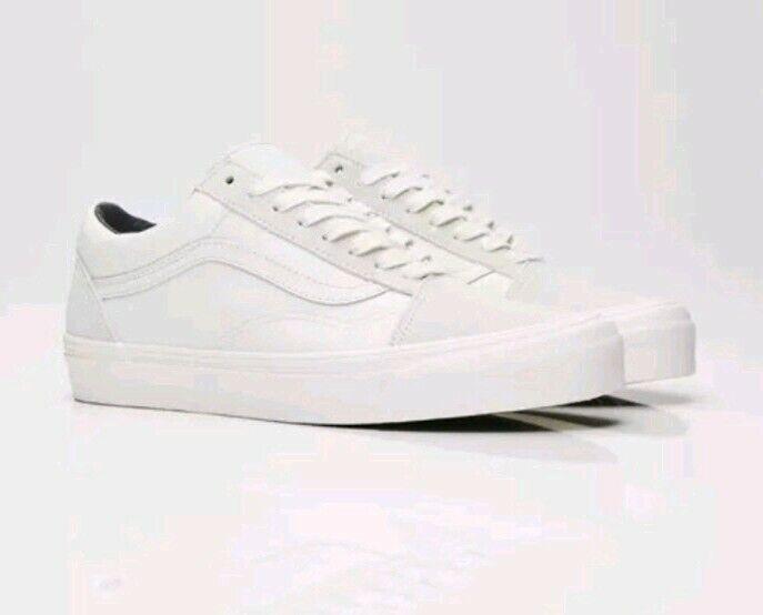 Details about Vans Vault OG Old Skool LX (SuedeCanvas) Blanc Cream Off white size 11