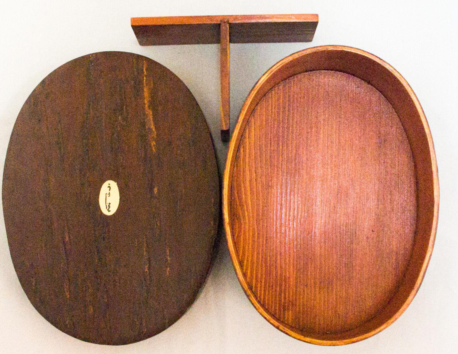 Wappa  cerisier écorce intérieure en bois Bento Lunch Box Urushi Revêtement 1116