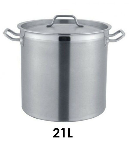 Suppentopf Kochtopf Topf Edelstahl 21//25//32 Liter Induktion Profi Gastronomie