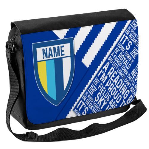 Personalizzata Calcio Borsa A Tracolla Da Viaggio Custodia Laptop Messenger Regalo