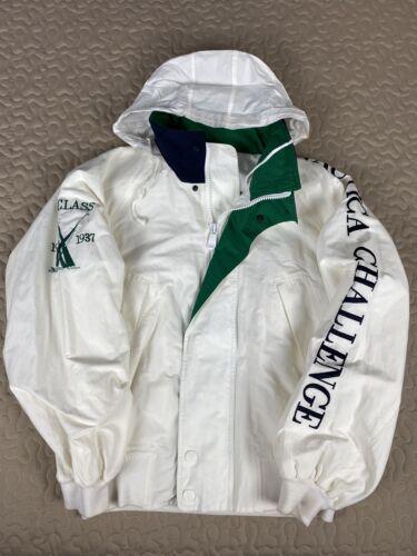 Nautica Challenge J Class Vintage Hoodie Jacket Wh