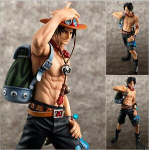 Ace 10th Limited Ver Anime One Piece POP Portgas D PVC Figure Toy No Box 23cm