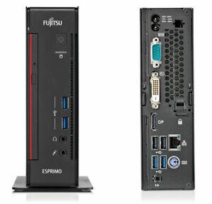 FUJITSU-ESPRIMO-Q556-i3-6100T-DDR4-8gb-RAM-500gb-240gb-ssd-WIN-10-Pro-Mini-PC