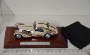 Bugatti Coupe Atlantic Silver-Cars 1:43 OVP