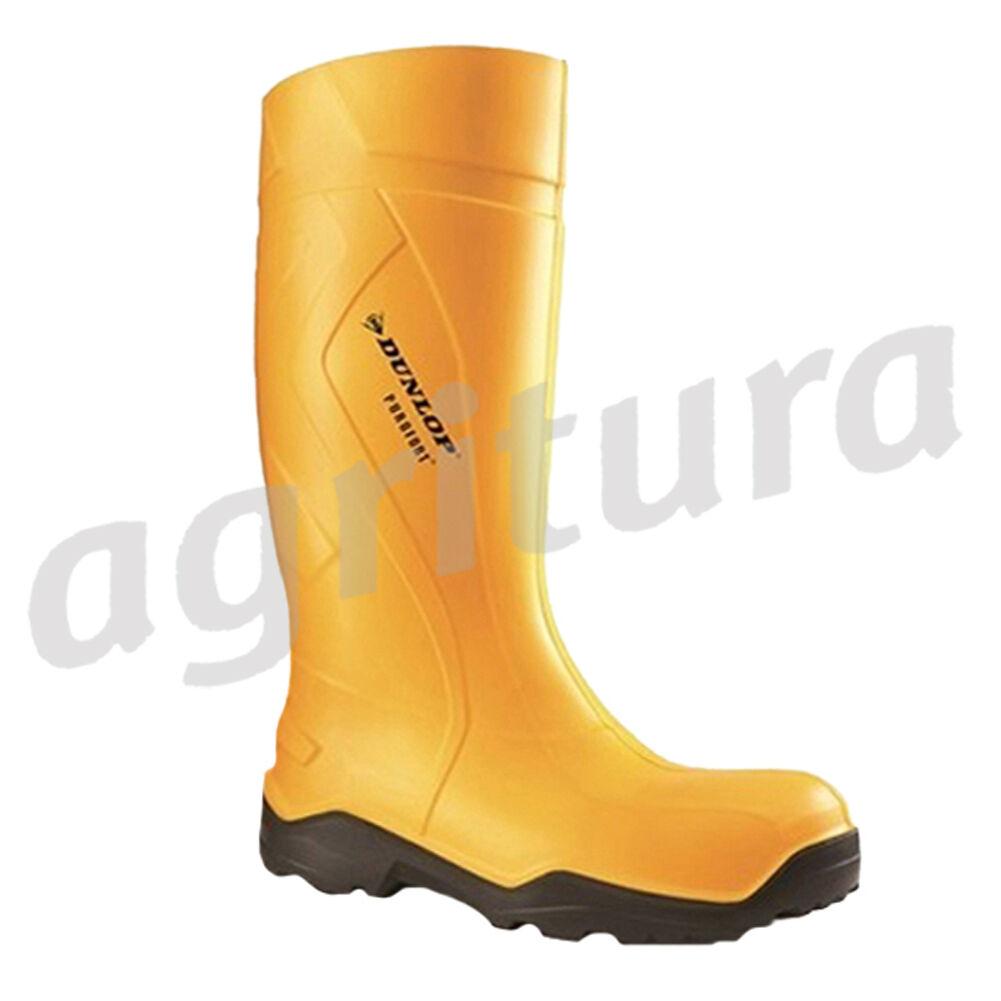 Stivali professionali Dunlop Purofort + pieno sicurezza Giallo, S5 - C762241