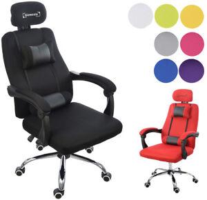 ergonomischer gaming b rostuhl gpx mit kopfst tze und verstellbarer r ckenlehne ebay. Black Bedroom Furniture Sets. Home Design Ideas