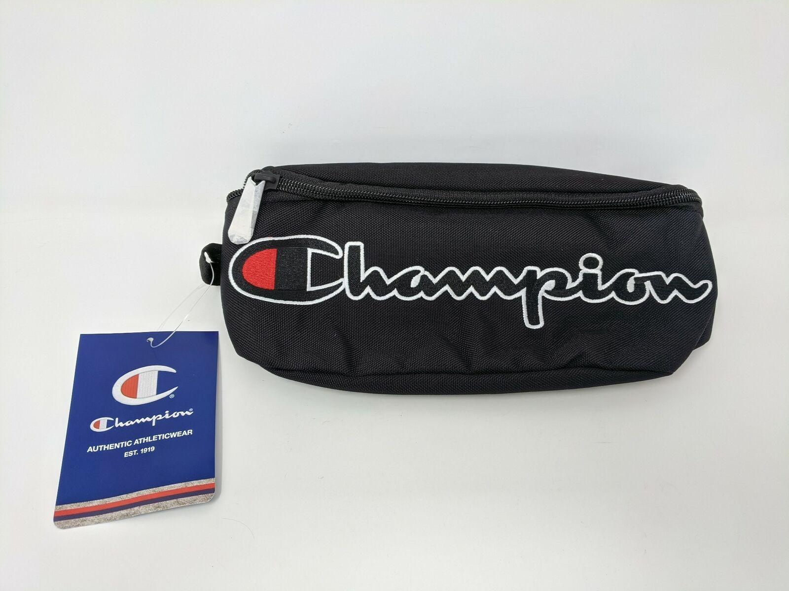 Men's Champion Prime Sling Waist Pack, Size OS - Black/White