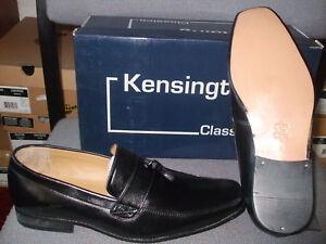 Para Hombre Kensington negro antideslizante en silla Tassle Informal Zapatos Tallas 6,9,10 +12 £ 29.95