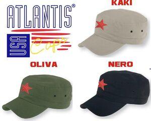 varietà larghe scegli il più recente di prim'ordine Dettagli su CHE GUEVARA Cappello ARMY berretto STELLA ROSSA cappellino  ATLANTIS in 3 COLORI
