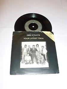 DIRE-STRAITS-Your-Latest-Trick-Scarce-1985-UK-3-track-7-034-Single