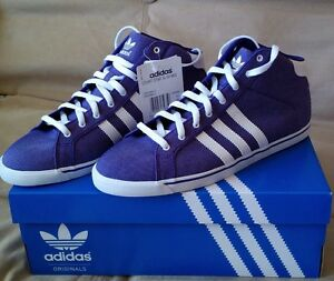 Adidas Originals Womens Court Star Slim Mid Shoes UK 5.5 6 6.5 7 SALE !!!