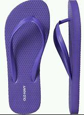 OLD NAVY WOMEN'S FLIP FLOPS, Size 10 Purple