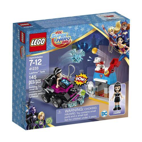 LEGO DC Super Hero Girls Lashina™ Tank Building Play Set 41233 NEW NIB