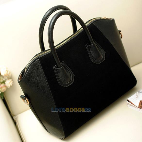 Fashion Woman Frosted PU Leather Handbag Shoulder Bags Satchel Tote Messenger #L