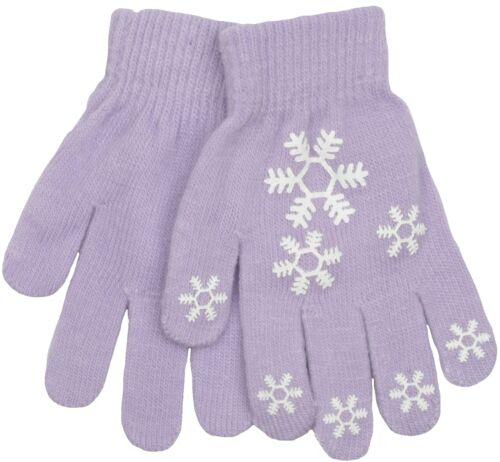 RJM Girls Flower Design Gripper Gloves