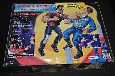 Terminator 2 Judgement Day Rock em' Sock em' Robots Sealed - Remco (1991) ITB WH